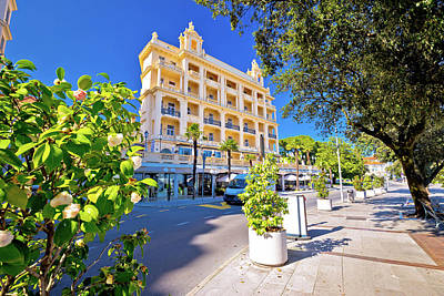 Photograph - Town Of Opatija Street View,  by Brch Photography
