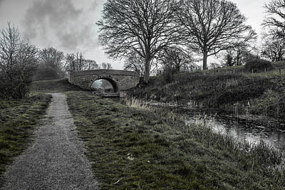 Photograph - Towpath  by Stewart Scott