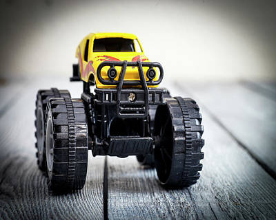 Toy Truck Photograph - Toy Monster Truck by Donald Erickson