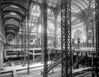 Track Level And Concourses Pennsylvania Station New York Art Print by Russ Brown