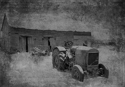 Photograph - Tractor by Jim Vance