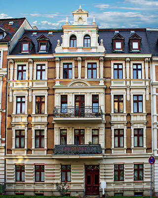 Photograph - Traditional German Residence by Anthony Dezenzio