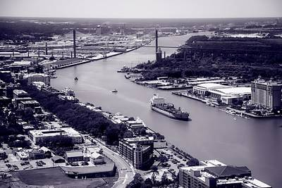 Photograph - Traffic On The Savannah River  by Library Of Congress