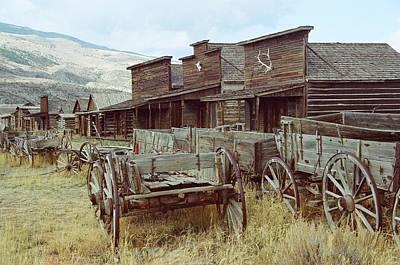 Trail Town Wyoming Original