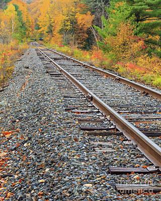 Photograph - Train Tracks by Edward Fielding