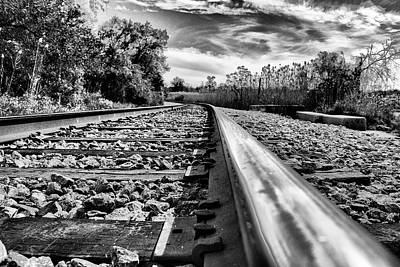 Photograph - Well Worn Tracks by Gej Jones