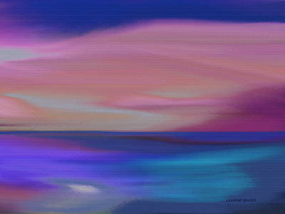 Comfort Painting - Tranquil Waters by Lenore Senior