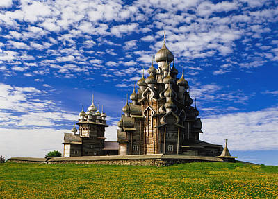 Transfiguration Photograph - Transfiguration Cathedral On Kizhi by Axiom Photographic