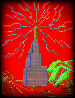 Transmission Tower Art Print