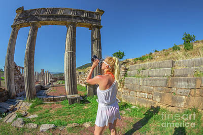 Photograph - Travel Photographer Greece by Benny Marty