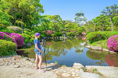 Photograph - Travel Photographer In Japan by Benny Marty