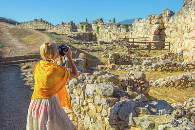 Photograph - Travel Woman Photographer by Benny Marty
