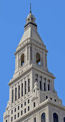 Photograph - Travelers Tower 17 by Phil Cardamone
