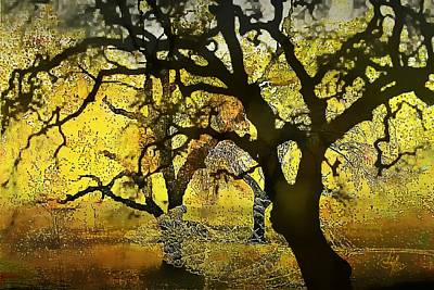 Digital Art - Tree Deconstructed 5 by Lynda Payton