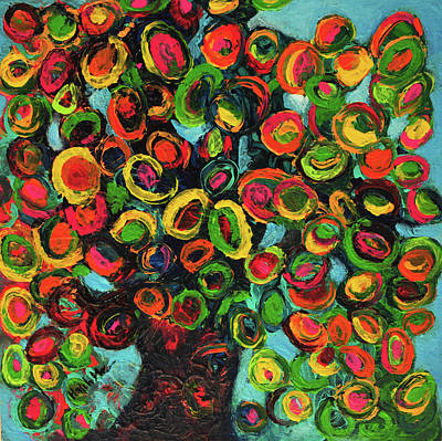 Painting - Tree Of Life by Haleh Mahbod