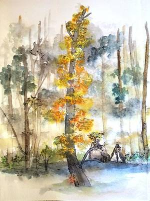 Painting - Trees Trees Trees And More Lbum by Debbi Saccomanno Chan