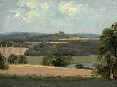 Urban Scenery Painting - Trentham Park by John Constable