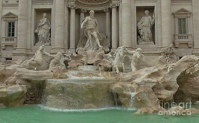 Photograph - Trevi Fountain by Mini Arora