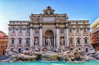 Photograph - Trevi Fountain, Roma, Italy by Elenarts - Elena Duvernay photo