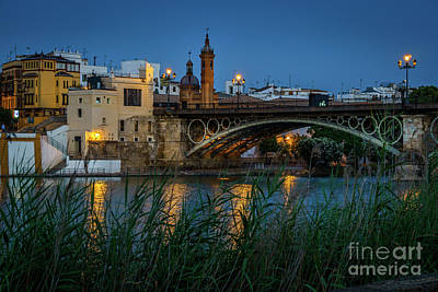 Photograph - Triana Bridge Seville Spain by Pablo Avanzini