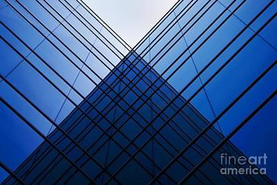 Triangle Reflection Art Print by Hideaki Sakurai