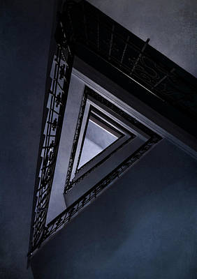 Photograph - Triangle Staircase by Jaroslaw Blaminsky