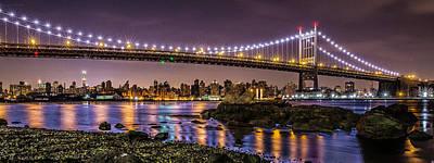 New York City Skyline Wall Art - Photograph - Triboro Bridge by Peter J DeJesus