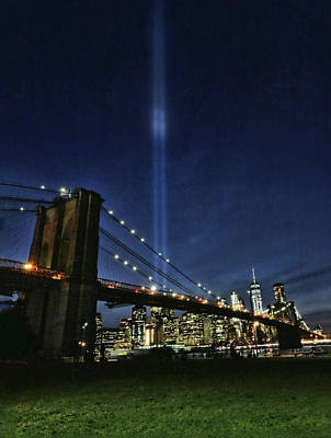 Photograph - Tribute In Light # 3 by Allen Beatty