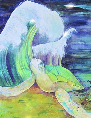 Tribute To The Sea Turtle Original by Georgia Annwell