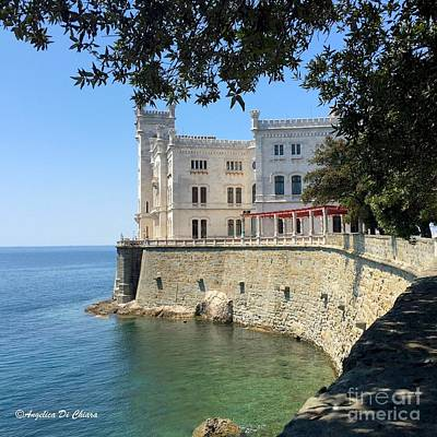 Photograph - Trieste Miramare Castle by Italian Art