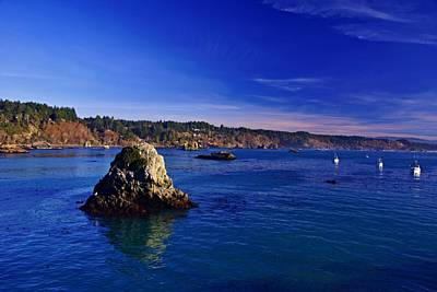 Photograph - Trinidad Bay by Michael Courtney
