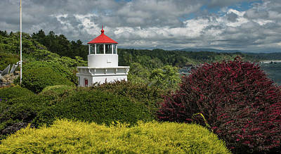 Photograph - Trinidad Memorial Lighthouse In Spring by Greg Nyquist