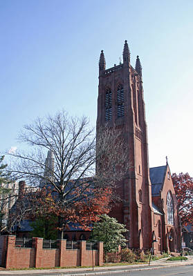 Photograph - Trinity Episcopal Church by Gerald Mitchell
