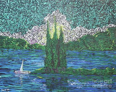 Painting - Trinity Lake Series IIi by Stefan Duncan