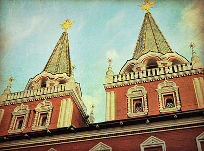 Photograph - Moscow's Triumphal Gate by JAMART Photography