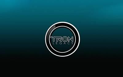 Tron Legacy                     Art Print by F S