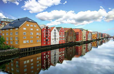 Photograph - Trondheim Coastal View by Anthony Dezenzio