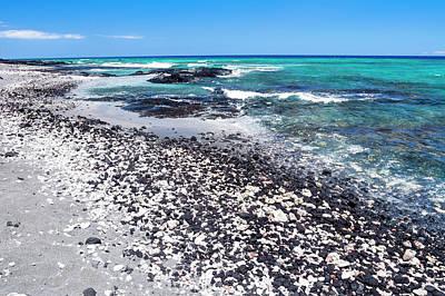 Photograph - Tropical Beach In Hawaii by Joe Belanger