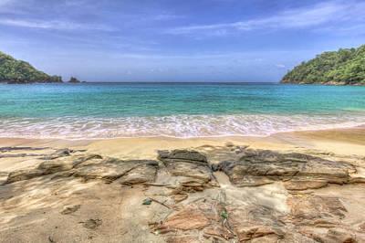 Seascape Photograph - Tropical Beach 1 by Nadia Sanowar