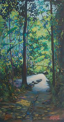 Tropical Bliss Art Print