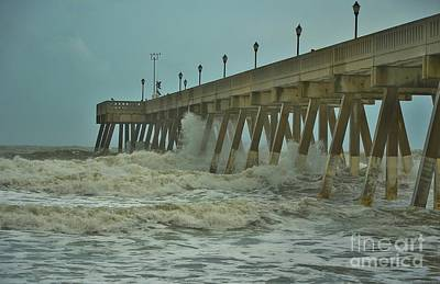 Photograph - Tropical Storm Ana 2 by Bob Sample