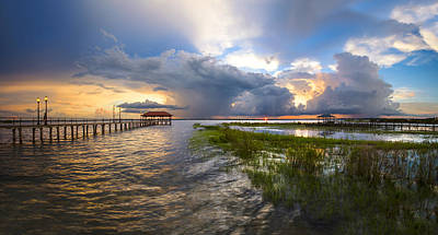 Photograph - Tropical Thunderstorm by Debra and Dave Vanderlaan