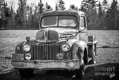 Photograph - Truck by Alana Ranney
