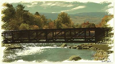 Photograph - Truckee River Painting  by Bobbee Rickard