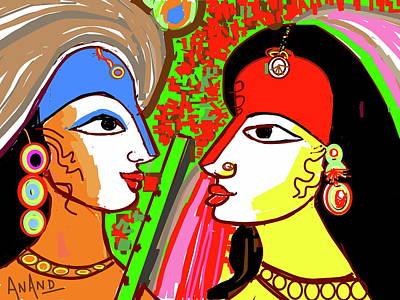 Digital Art - True Love by Anand Swaroop Manchiraju