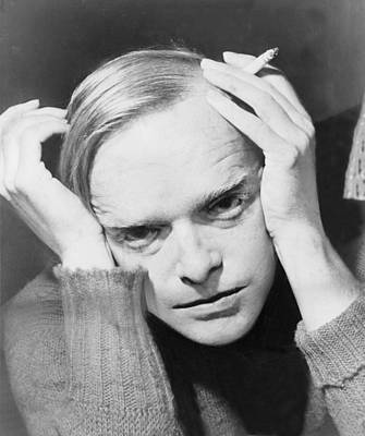 1950s Portraits Photograph - Truman Capote 1924-1984, Southern by Everett