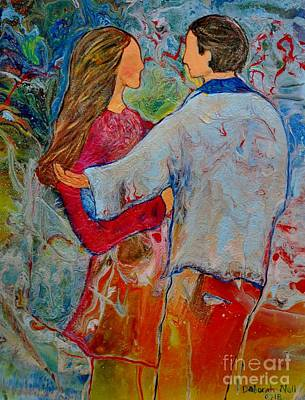 Painting - Trusting You by Deborah Nell