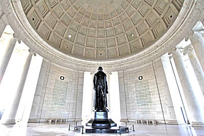 Jefferson Memorial Wall Art - Photograph - Truth And Reason by Mitch Cat