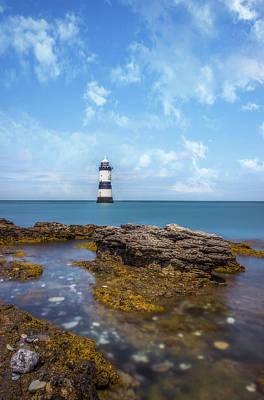 Photograph - Trwyn Du Lighthouse by Ian Mitchell