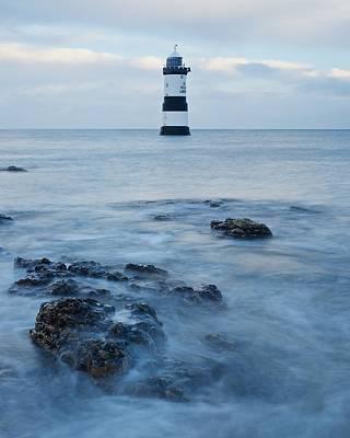 Photograph - Trwyn Du Lighthouse by Stephen Taylor